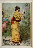 view Use Fleming's Mikado Cologne [trade card] digital asset: Use Fleming's Mikado Cologne [trade card, ca. 1890-1900?].