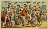 view Uncle Sam / Supplying / the World / with Berry Bros. Hard Oil Finish [trade card] digital asset: Uncle Sam / Supplying / the World / with Berry Bros. Hard Oil Finish [trade card].