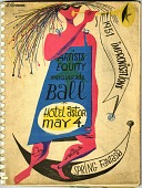 view 1951 Improvisations / Artists Equity masquerade ball / Hotel Astor May / spring fantasia [book of lithographs] digital asset: 1951 Improvisations / Artists Equity masquerade ball / Hotel Astor May / spring fantasia [book of lithographs], 1951.