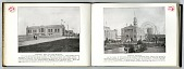 """view [Two images (on two pages) from """"Forestry, Fish and Game Building"""" and """"Mexican Pavilion"""" photos from """"Jackson's Famous Photographs of the Louisiana Purchase Exposition, 1803 - St. Louis - 1904, Over 200 Views and Scenes""""]. [book pages] digital asset: [Two images (on two pages) from """"Forestry, Fish and Game Building"""" and """"Mexican Pavilion"""" photos from """"Jackson's Famous Photographs of the Louisiana Purchase Exposition, 1803 - St. Louis - 1904, Over 200 Views and Scenes""""]. [book pages]."""