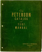 view The Peterson Catalog and Turf Manual [catalog] digital asset: The Peterson Catalog and Turf Manual [catalog, ca. 1936].