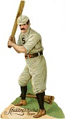 view [Baseball player: cutout] digital asset: [Baseball player: cutout, ca. 1900?]
