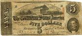 view Five Dollar Bill [paper money] digital asset: Five Dollar Bill [paper money]