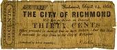 view Thirty-Cent Bill [Paper Money] digital asset: Thirty-Cent Bill [Paper Money]