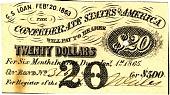 view Twenty Dollar Bond [Paper Money] digital asset: Twenty Dollar Bond [Paper Money]