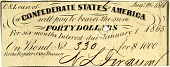 view Forty Dollar Bond [paper money] digital asset: Forty Dollar Bond [paper money].