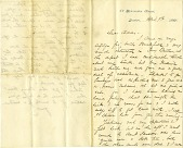 view [Lucy Perkins Letter,] digital asset: [Lucy Perkins Letter,] 1865.