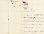 view [Lincoln Drake letter,] digital asset: [Lincoln Drake letter,] 1861.