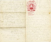 view [E. Heath Park Letter,] digital asset: [E. Heath Park Letter,] 1861.