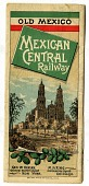 view MEXICAN CENTRAL RAILWAY [timetable] digital asset: MEXICAN CENTRAL RAILWAY [timetable].