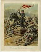 view Sheridan at Five Forks, April 1, 1865 [color print] digital asset: Sheridan at Five Forks, April 1, 1865 [color print].