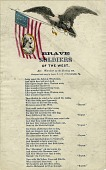 view Brave / Soldiers / of the West [song sheet] digital asset: Brave / Soldiers / of the West [song sheet].
