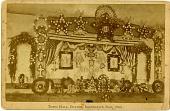 view Town Hall, Bolton, Decoration Day, 1886 [albumen photoprint] digital asset: Town Hall, Bolton, Decoration Day, 1886 [albumen photoprint].