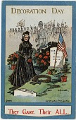 view Decoration Day / They Gave Their All [postcard] digital asset: Decoration Day / They Gave Their All [postcard].