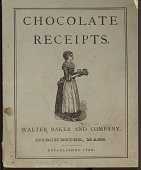 view Chocolate Receipts. [Booklet.] digital asset: Chocolate Receipts. [Booklet.]