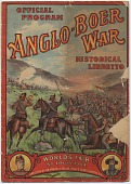 view Anglo-Boer War / Official Program / Historical Libretto [Program] digital asset: Anglo-Boer War / Official Program / Historical Libretto [Program], 1904.