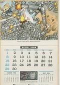 view Honeywell Calendar 1956 [illustrated calendar] digital asset: Honeywell Calendar 1956 [illustrated calendar], 1956.