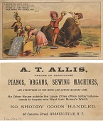 view Now see this burly bison [opening line of text]. [Advertising card.] digital asset: Now see this burly bison [opening line of text]. [Advertising card.]