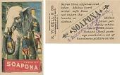 view Soapona. [Advertising card.] digital asset: Soapona. [Advertising card.]