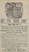 "view Buy The ""Mono Soap"". [Print advertising.] digital asset: Buy The ""Mono Soap"". [Print advertising.]"