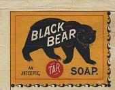view Black Bear. [Advertising card.] digital asset: Black Bear. [Advertising card.]