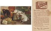 view Cats Can, But--Bon Ami Can Not Scratch For It Lacks Grit. [Advertising card.] digital asset: Cats Can, But--Bon Ami Can Not Scratch For It Lacks Grit. [Advertising card.]