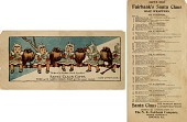 view Santa Claus Gifts / Free with Santa Claus Soap all the year round [Advertising card.] digital asset: Santa Claus Gifts / Free with Santa Claus Soap all the year round [Advertising card.]