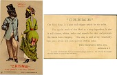 view Creme Oat Meal Toilet Soap. [Advertising card.] digital asset: Creme Oat Meal Toilet Soap. [Advertising card.]