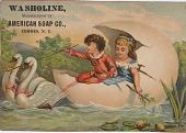 view Washoline. [Advertising card.] digital asset: Washoline. [Advertising card.]