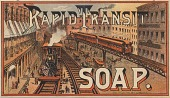 view Rapid Transit Soap. [Advertising card.] digital asset: Rapid Transit Soap. [Advertising card.]