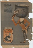 """view Says Percy Pot, """"I now am not As black as I've been painted.. [Print advertising.] digital asset: Says Percy Pot, """"I now am not As black as I've been painted.. [Print advertising.]"""