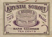 view Krystal Soiloff: The Magic Hand Cleanser. [Sign.] digital asset: Krystal Soiloff: The Magic Hand Cleanser. [Sign.]