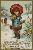view We are going after Snow Soap. [Advertising card.] digital asset: We are going after Snow Soap. [Advertising card.]