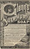 view Glenn's Sulphur Soap. [Print advertising.] digital asset: Glenn's Sulphur Soap. [Print advertising.]