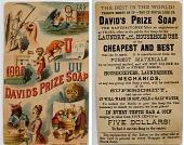 view Davids Prize Soap. [Advertising card.] digital asset: Davids Prize Soap. [Advertising card.]