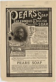 view Pears' Soap The Famous English Complexion Soap. [Print advertising.] digital asset: Pears' Soap The Famous English Complexion Soap. [Print advertising.] 1885