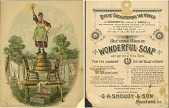 view Biddie Enlightening The World. [Advertising card.] digital asset: Biddie Enlightening The World. [Advertising card.]
