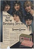 view Film Stars Find New Beauty Secret. [Print advertising.] digital asset: Film Stars Find New Beauty Secret. [Print advertising.]