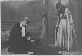 """view [Scene from the play """"Thesba"""": b&w photoprint] digital asset: [Scene from the play """"Thesba"""": b&w photoprint]"""