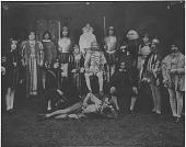 "view [Cast of ""Hamlet"": b&w photoprint] digital asset: [Cast of ""Hamlet"": b&w photoprint]"