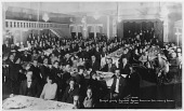 view Banquet given by progresive Syrian American Club in honor of Giran [black and white photoprint] digital asset: Banquet given by progresive Syrian American Club in honor of Giran [black and white photoprint].