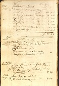 view [Pages from account and letter book] digital asset: [Pages from account and letter book].