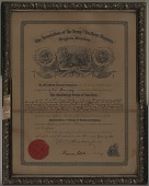 view The Association of the Army of Northern Virginia [certificate] digital asset: The Association of the Army of Northern Virginia [certificate].