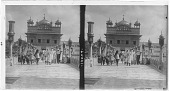 view Beautiful white marble causeway leading to the Golden Temple. [Cat. No. 14059 : stereoscopic interpositive.] digital asset: Beautiful white marble causeway leading to the Golden Temple. [Cat. No. 14059 : stereoscopic interpositive.]