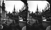 view Reserve Boxes, Open Air Circus, Luna Park, Coney Island, N.Y. City. [Caption no. 1502 : photonegative,] digital asset: Reserve Boxes, Open Air Circus, Luna Park, Coney Island, N.Y. City. [Caption no. 1502 : photonegative,] 1905.