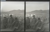view After the great siege was over, Russian prisoners at Arthur. [Active no. 1681 : stereo photonegative,] digital asset: After the great siege was over, Russian prisoners at Arthur. [Active no. 1681 : stereo photonegative,] 1905.