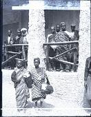 view Inhabitants of the Dahomy. 21862 photonegative digital asset: Inhabitants of the Dahomy. 21862 photonegative.