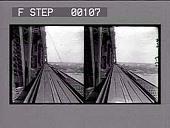 view Building the Blackwell's Island bridge. Cat. No. 78 : stereoscopic photonegative digital asset: Building the Blackwell's Island bridge. Cat. No. 78 : stereoscopic photonegative.