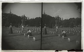 view Fallen of the mighty conflict--graves of Confederate soldiers, Charleston, S.C. [Active no. 5666 : stereo interpositive.] digital asset: Fallen of the mighty conflict--graves of Confederate soldiers, Charleston, S.C. [Active no. 5666 : stereo interpositive.]