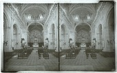 view Interior of the Cathedral, Havana, where Columbus' remains rested from 1796 to 1898 [Active no. 6507 : stereo interpositive.] digital asset: Interior of the Cathedral, Havana, where Columbus' remains rested from 1796 to 1898 [Active no. 6507 : stereo interpositive.]